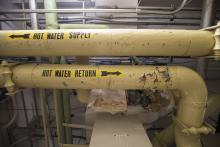 Old Boiler Room Pipes