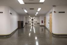 Large Corridor Leading to Hearing Room