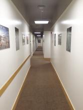 Narrow Corridors in the Governor's Suite